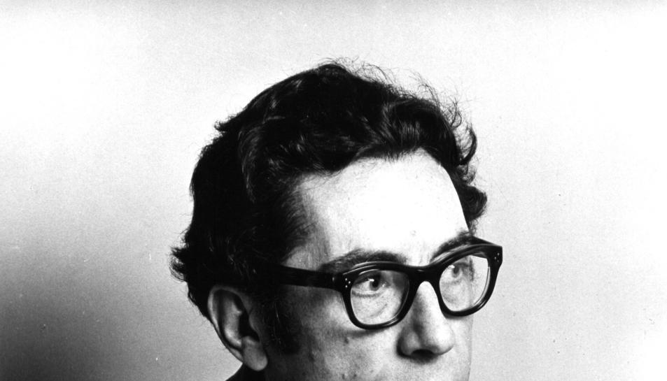 Fotografia d'arxiu de l'escriptor, crític literari i traductor Joan Ferraté. Divendres 9 de novembre (HORITZONTAL)