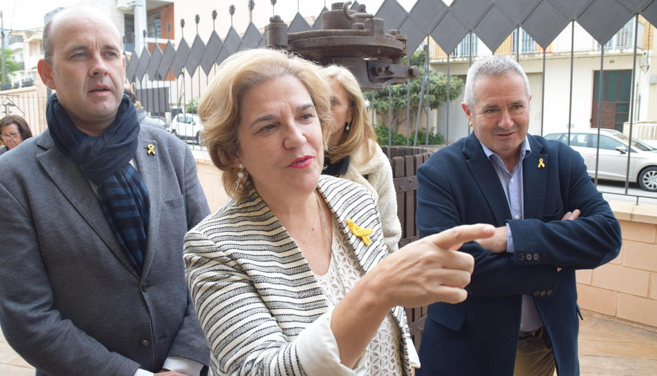 Pilar Rahola ha participat donant una conferència