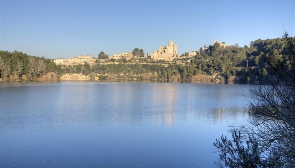 Imatge del Pantà de Foix.