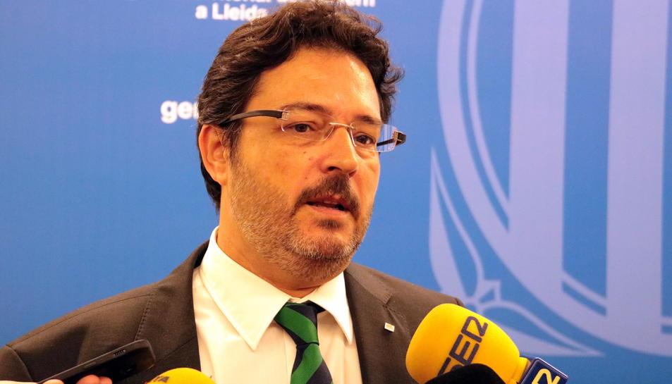El secretari d'Infraestrctures i Mobilitat, Isidre Gavín.