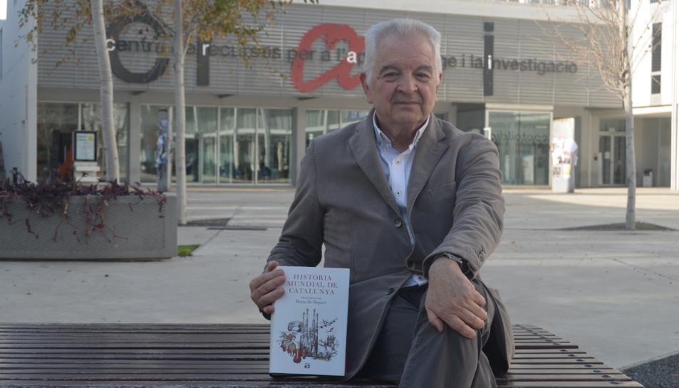 El catedràtic emèrit d'Història Contemporània de la UAB, la setmana passada a Tarragona.