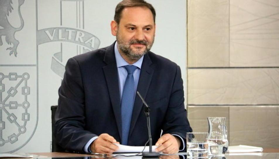 Imatge d'arxiu del ministre de Foment, José Luís Ábalos.