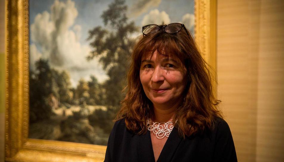 Mayte Garcia és també la comissària de l'exposició que es pot visitar a Tarragona.