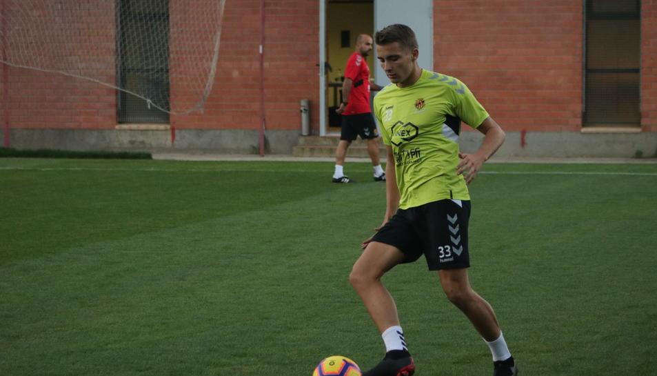 Salva Ferrer és un habitual del primer equip i dissbte podria tenir l'alternativa contra l'Almería.