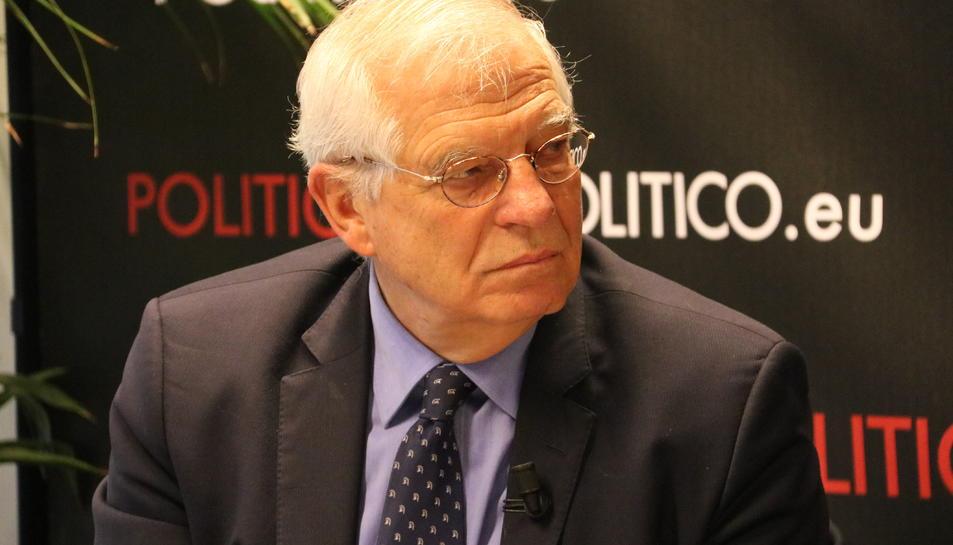 El ministre d'Afers Exteriors espanyol, Josep Borrell.
