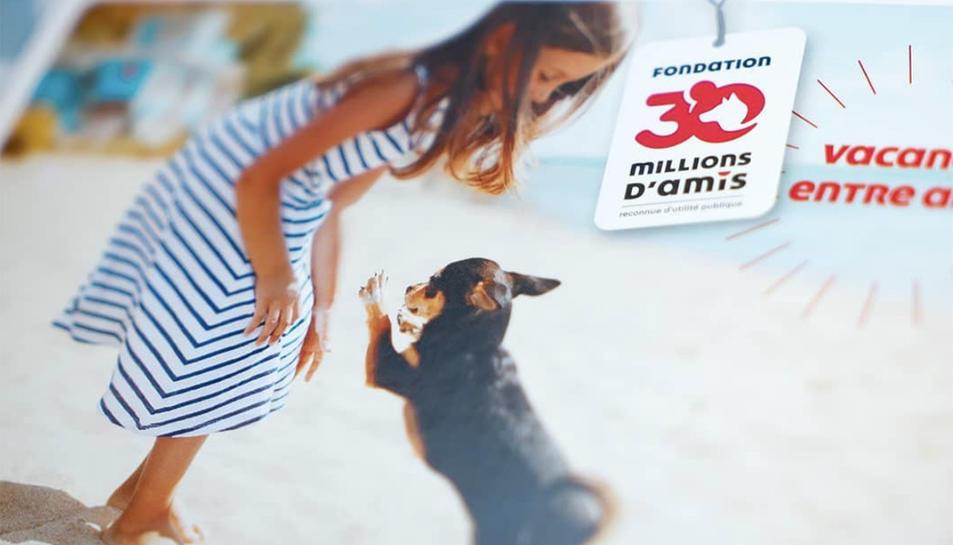 Una imatge promocional de la fundació animalista francesa.