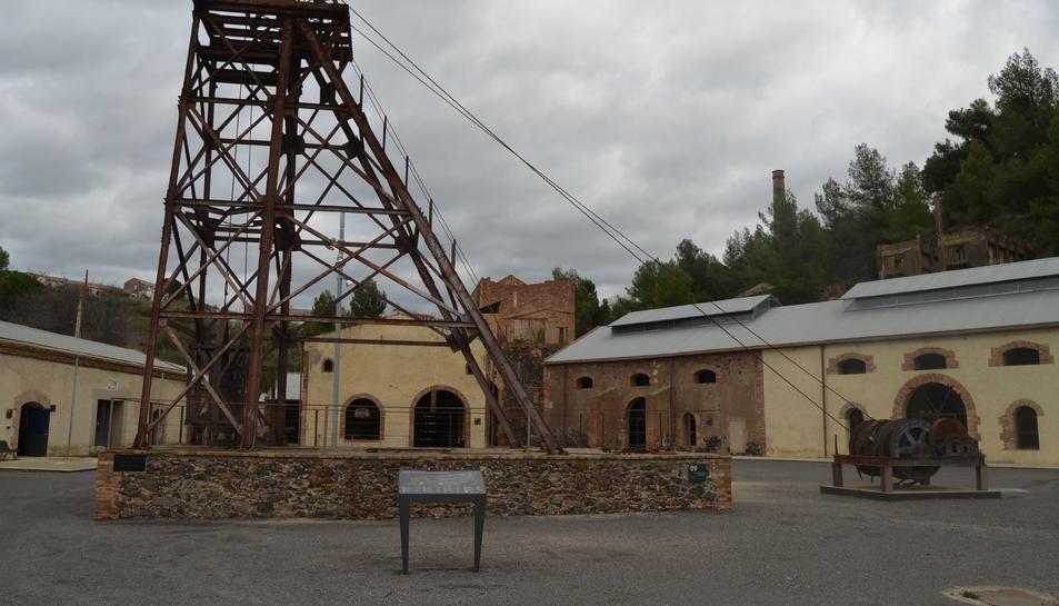 Les mines de Bellmunt del Priorat.