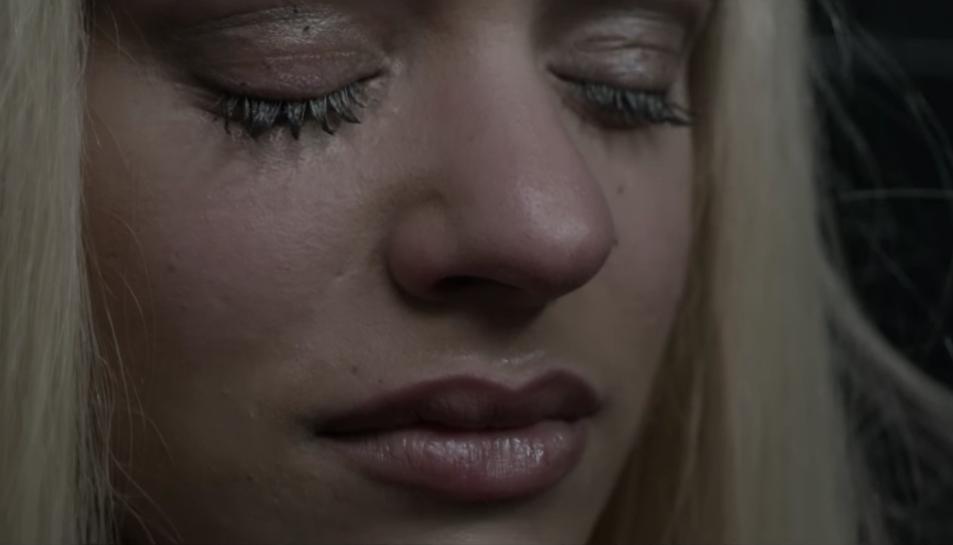 Imatge del videoclip 'Bagdad' protagonitzat per Rosalía.
