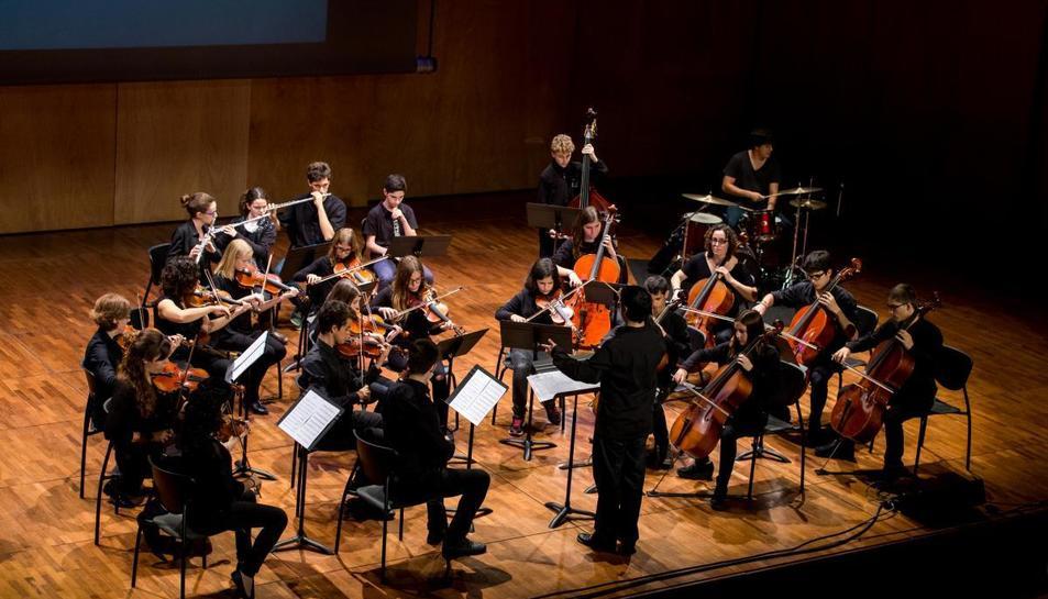 Imatge d'arxiu de l'Orquestra de Cambra del Penedès.