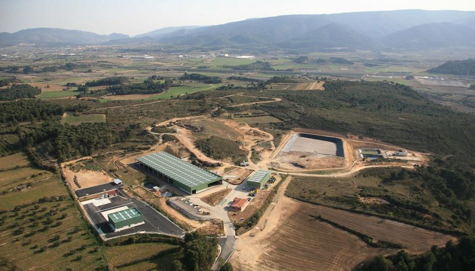 Centre de tractament de residus de la Conca de Barberà.