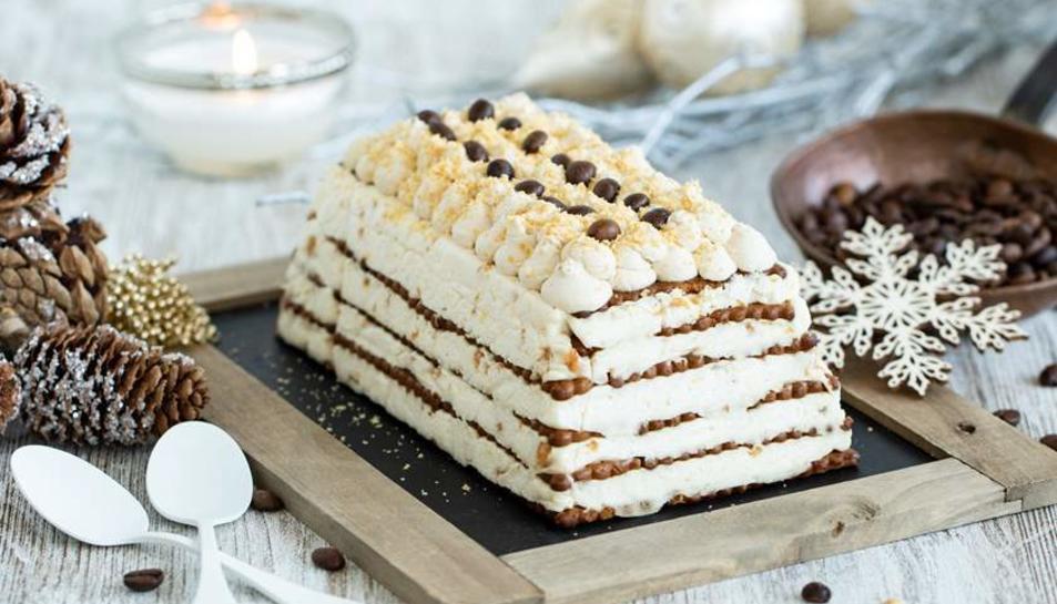 Imatge del pastís de fàcil elaboració.