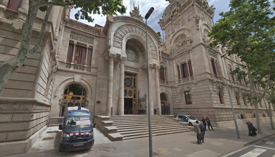 Imatge d¡arxiu d'el Palau de Justícia de Barcelona.