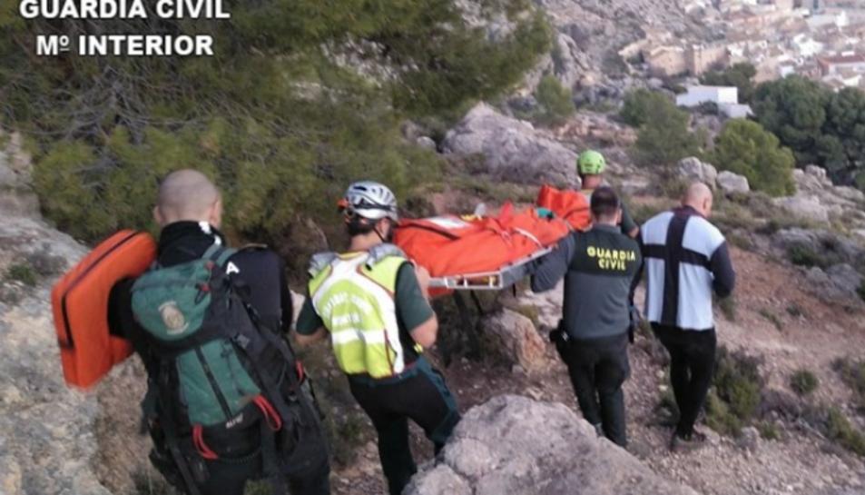 Imatge del rescat.