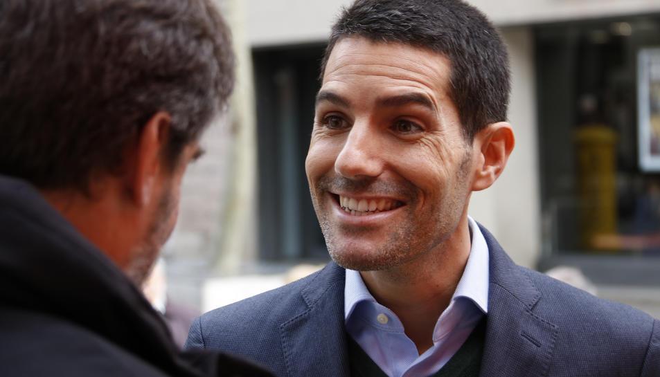 El diputat de Cs Nacho Martín Blanco aquest 8 de desembre de 2018.