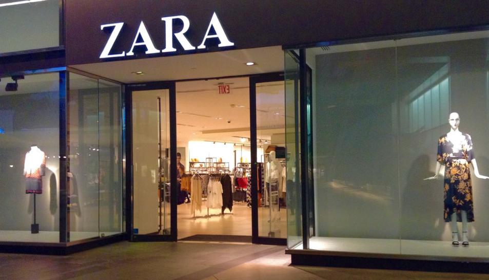 Imatge d'un establiment Zara.