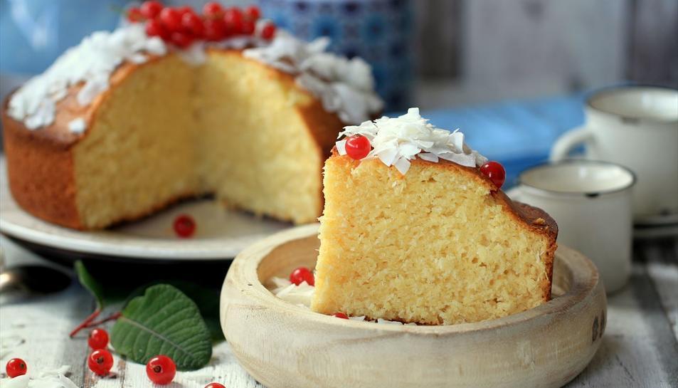 Imatge del pastís el·laborat per Nestlé.
