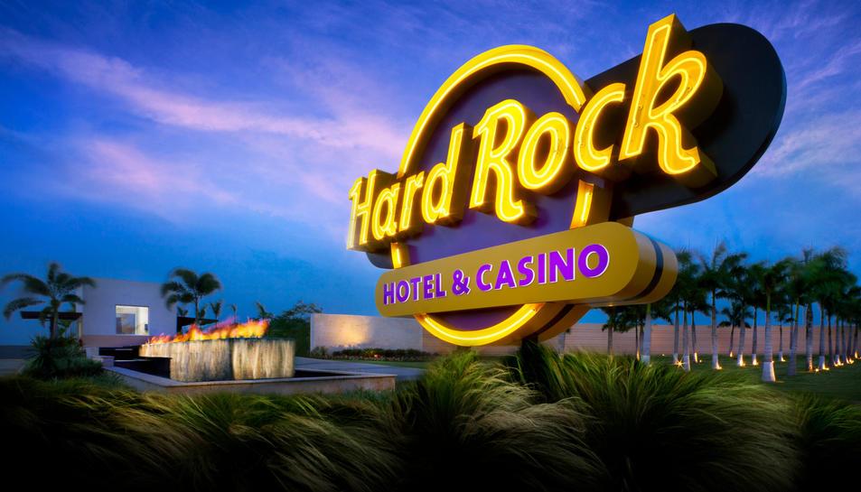 Imatge d'un cartell de Hard Rock a Punta Cana