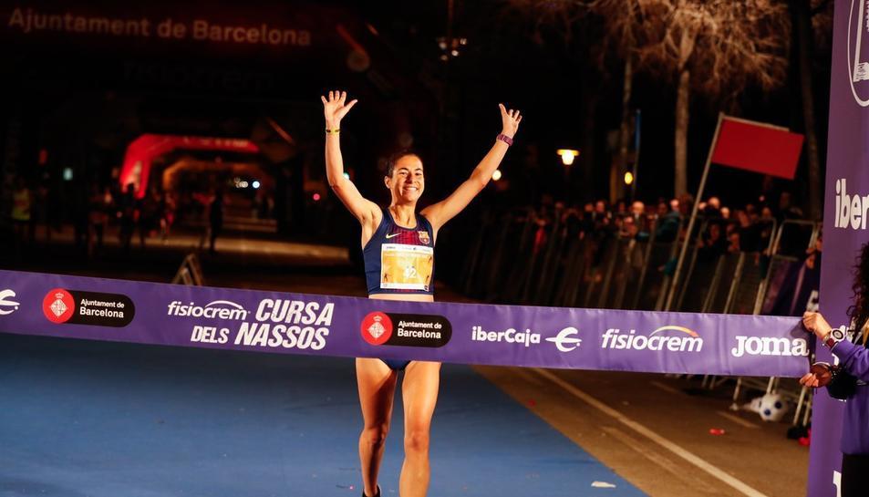 Marta Galimany es va imposar clarament, demostrant el seu brillant moment de forma.