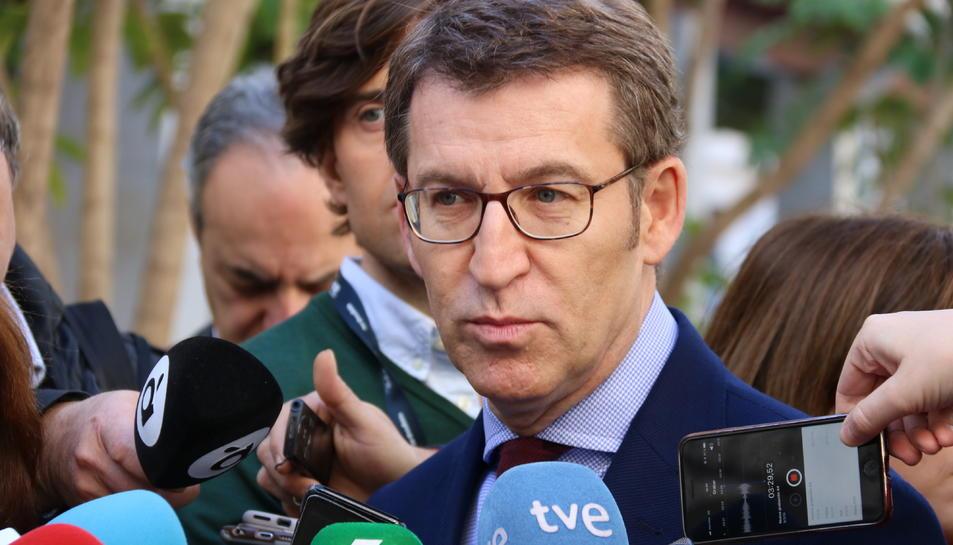 Imatge d'arxiu del president de Galícia Alberto Nuñez Feijóo.