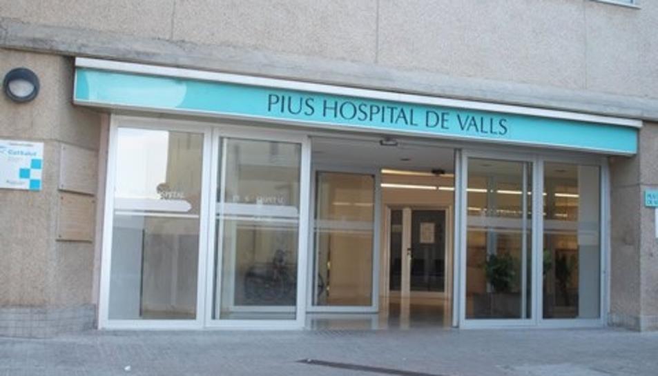 Imatge d'arxiu de l'Hospital Pius de Valls.