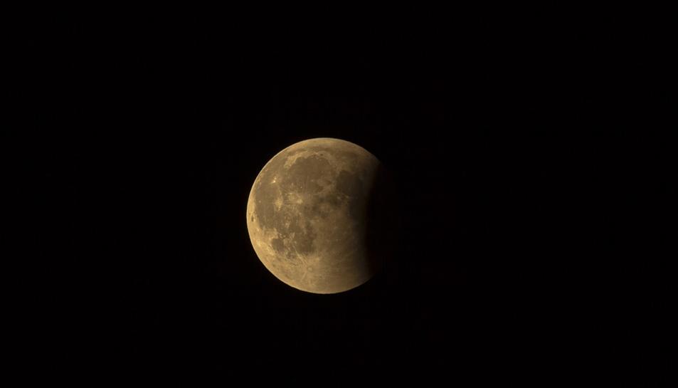 Imatge d'arxiu de la Lluna.