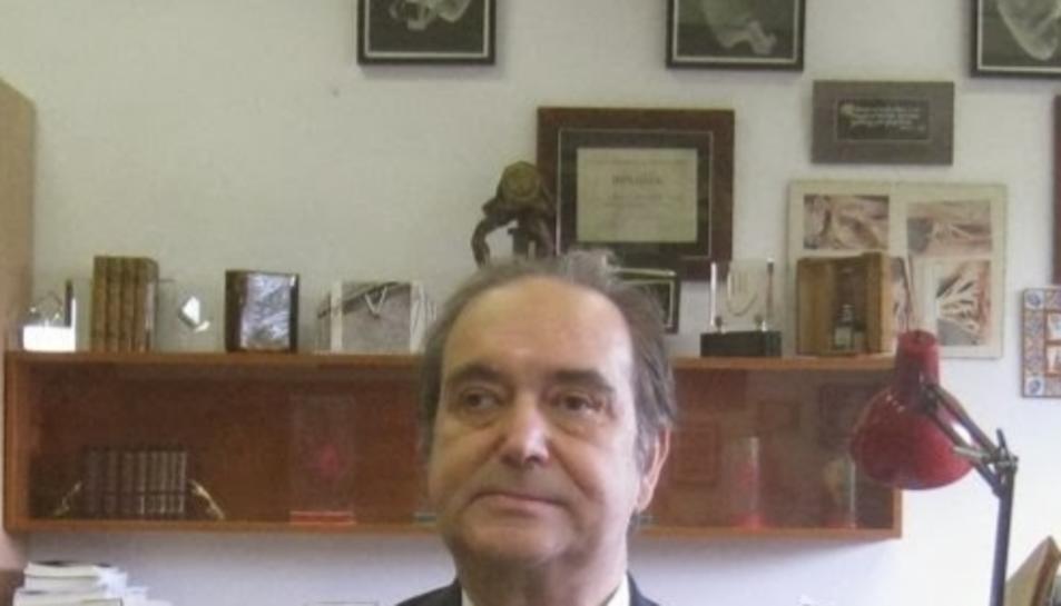 Josep Maria Domènech i Mateu era padrí de la Colla Vella des del 1961.