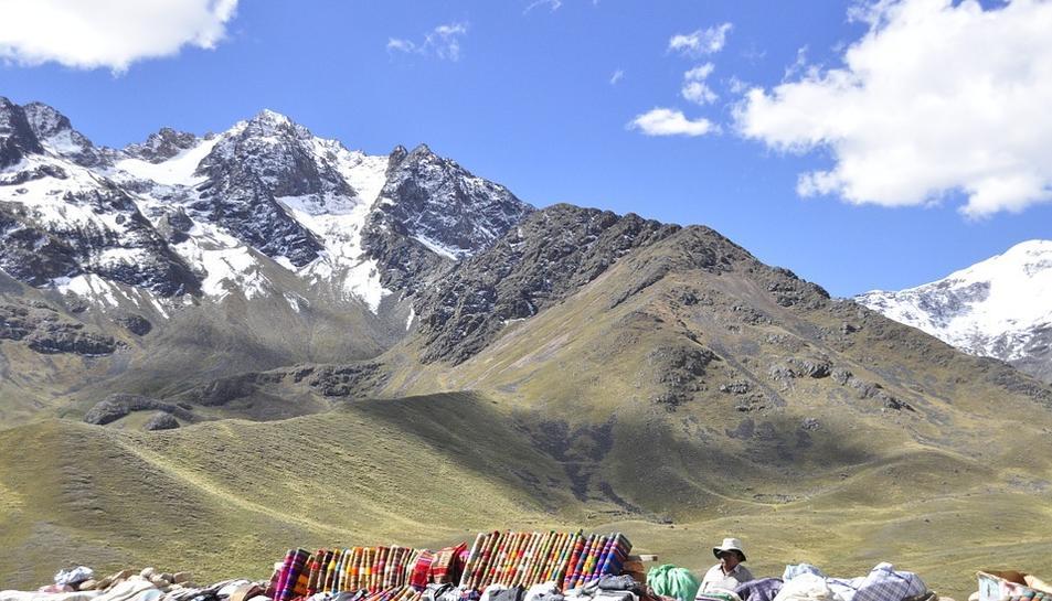 Els muntanyistes es trobaven als Andes de Perú.