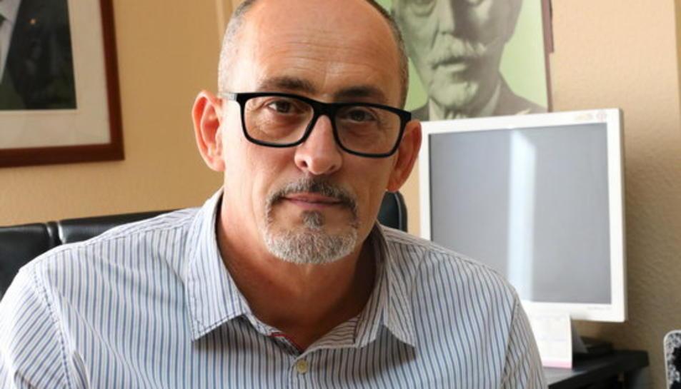 Pla curt de l'alcalde de Banyeres del Penedès, Amadeu Benach.