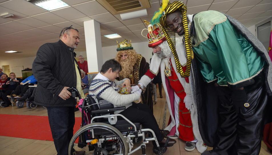 Els Reis han visitat La Muntanyeta per 16è any consecutiu.