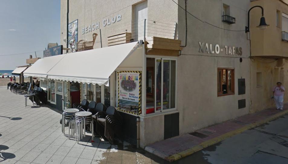 Un dels establiments on han robat ha estat el bar Xaloquell.