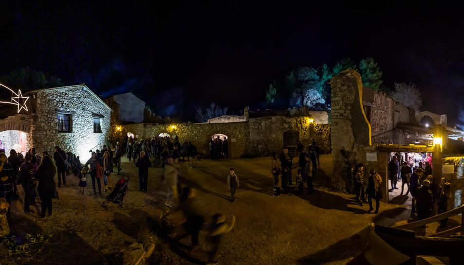 Enguany han visitat el Pessebre dels Estels el doble de visitants de l'any passat.