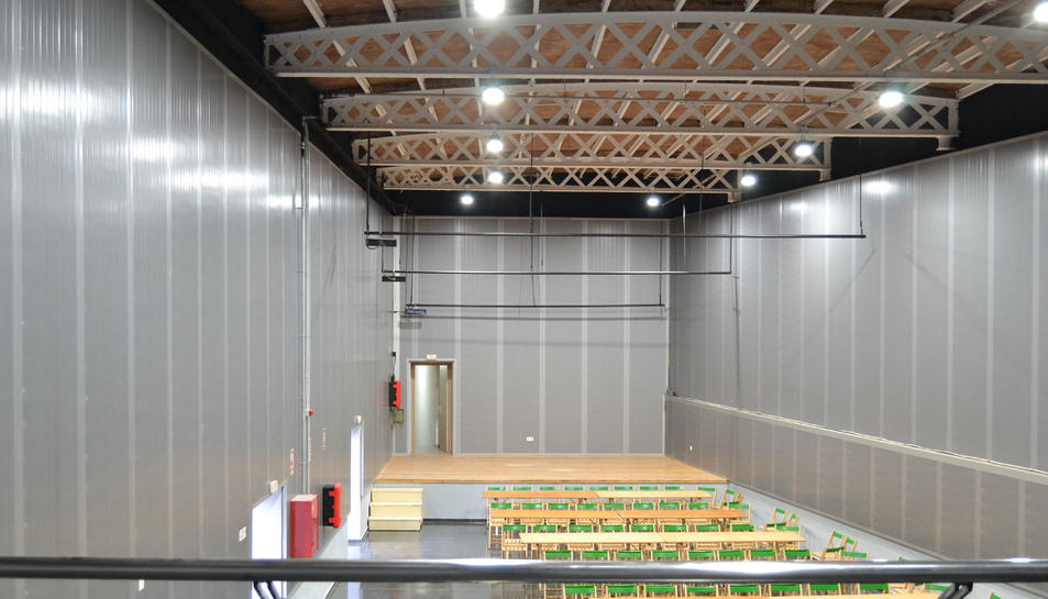 Imatge de la sala polivalent La Palma