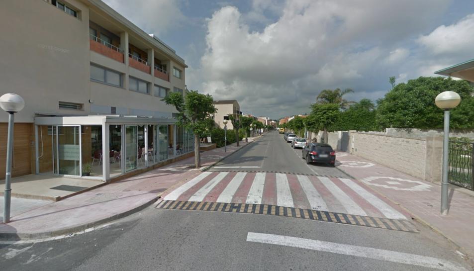 Els fets s'han produït a l'avinguda Sant Jordi del municipi.