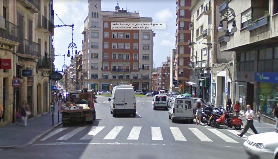 ELs fets es van produir al carrer Unió de Tarragona.