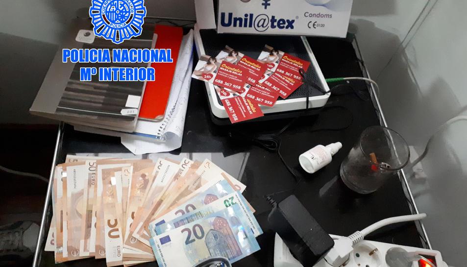 Han trobat diners i d'altres productes relacionats amb la trama