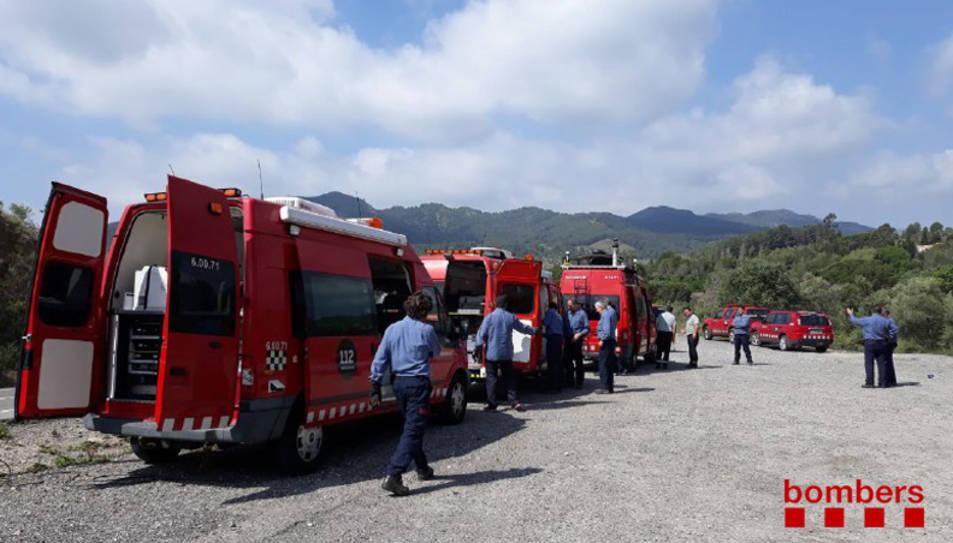 Imatge d'arxiu de diversos vehicles Bombers.