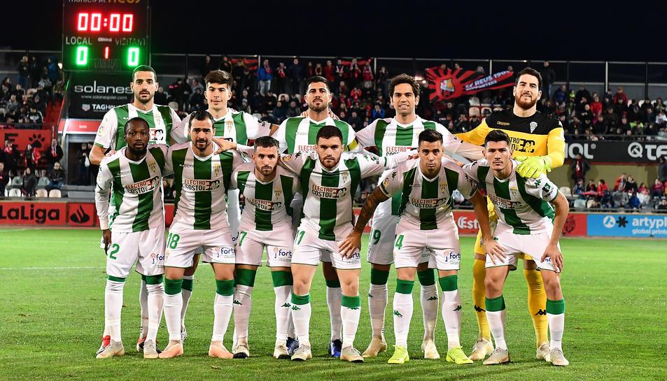 L'onze que el Córdoba va presentar a Reus durant el mes de desembre