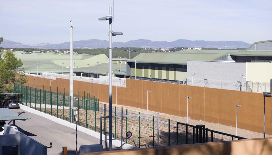 Imatge general de les dependències del centre penitenciari de Mas Enric, ubicat al terme municipal del Catllar.