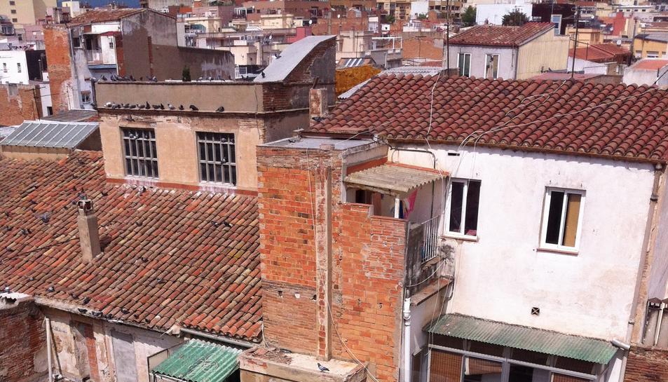 Imatge d'alguns dels edificis afectats, recollida al projecte.