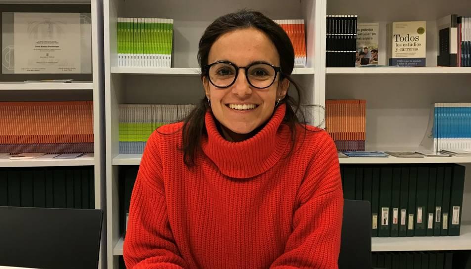 Marta Sabadell és orientadora acadèmica i professional.