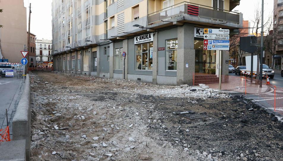 El carrer d'Arnavat i Vilaró tindrà voreres més amples.