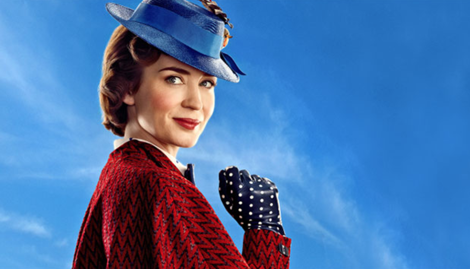 Emily Blunt interpreta a Mary Poppins.