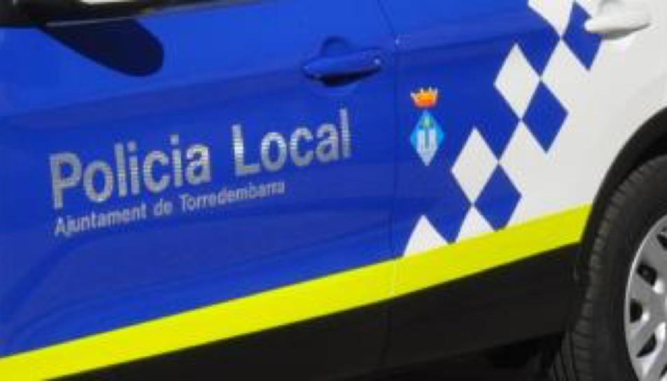 Imatge d'arxiu d'un vehicle de la Policia Local de Torredembarra.