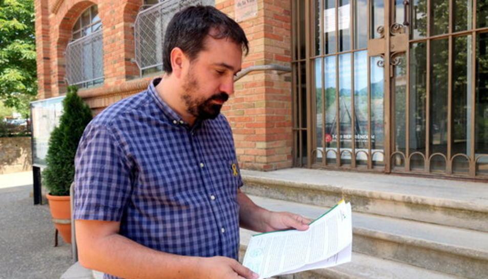 L'alcalde de Celrà, Dani Cornellà, en una imatge d'arxiu.