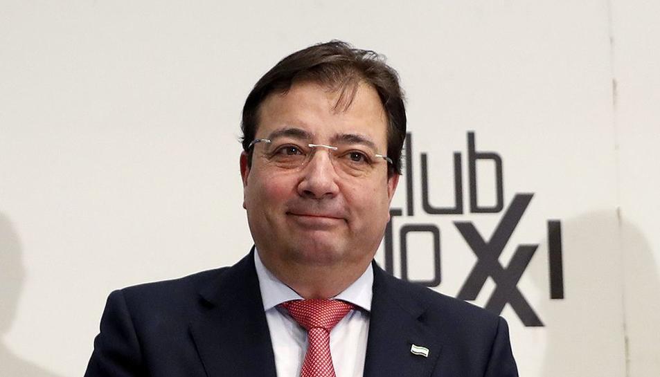 El presidente de Extremadura, Guillermo Fernández Vara /