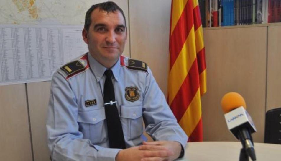 Vicenç Lleonart serà el nou sotscap de la Regió Policial de Tarragona.
