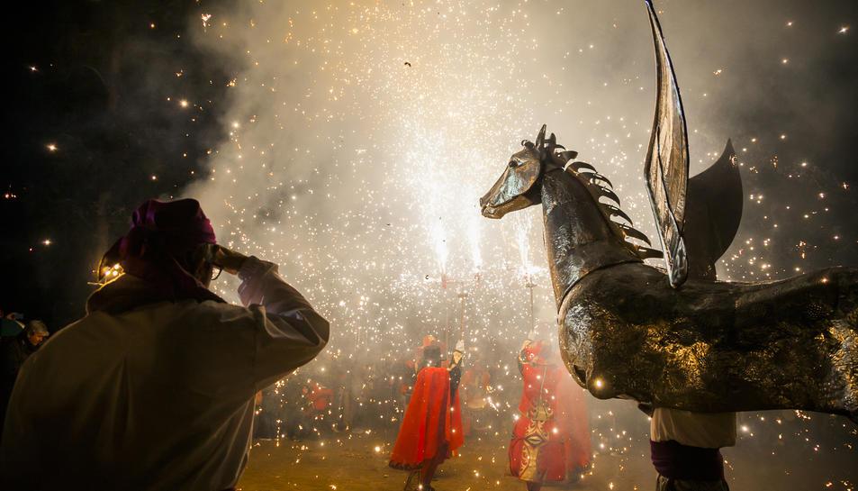 El Cavall Aalt ha estat obra d'Antoni Mas