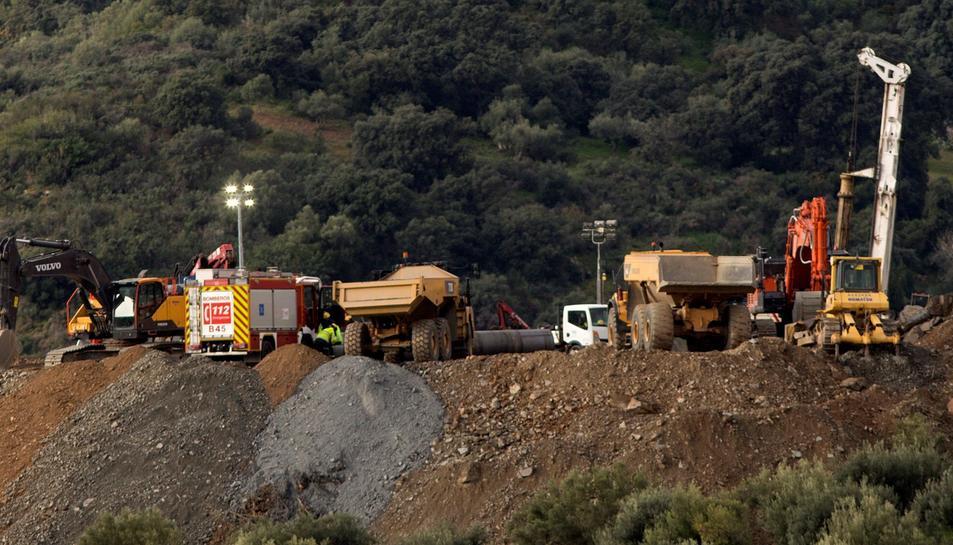 Durant aquesta matinada han excavat 33 metres del túnel