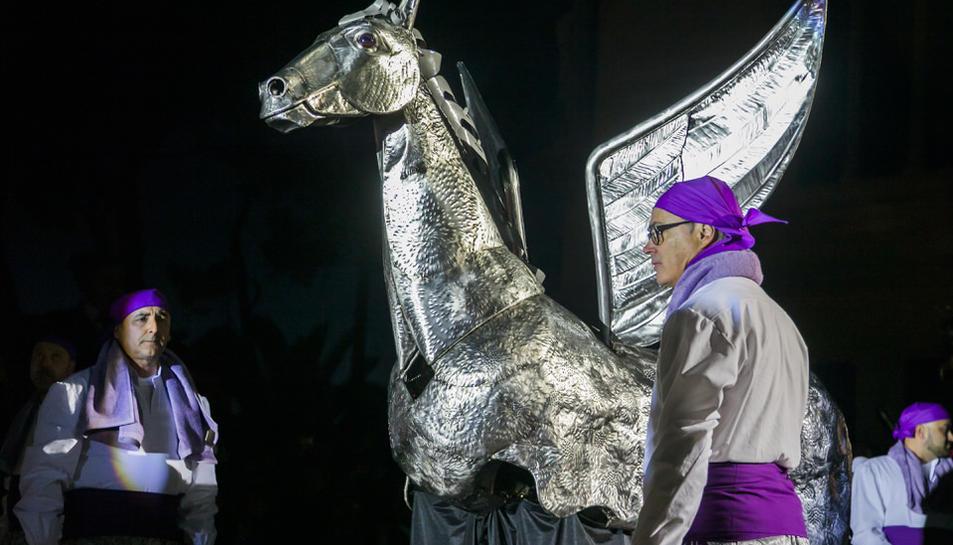 La presentació del Cavall Alat de Vila-seca (2)
