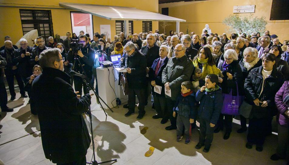 Inauguració, del jardí bíblic al Museu Bíblic Tarraconense.